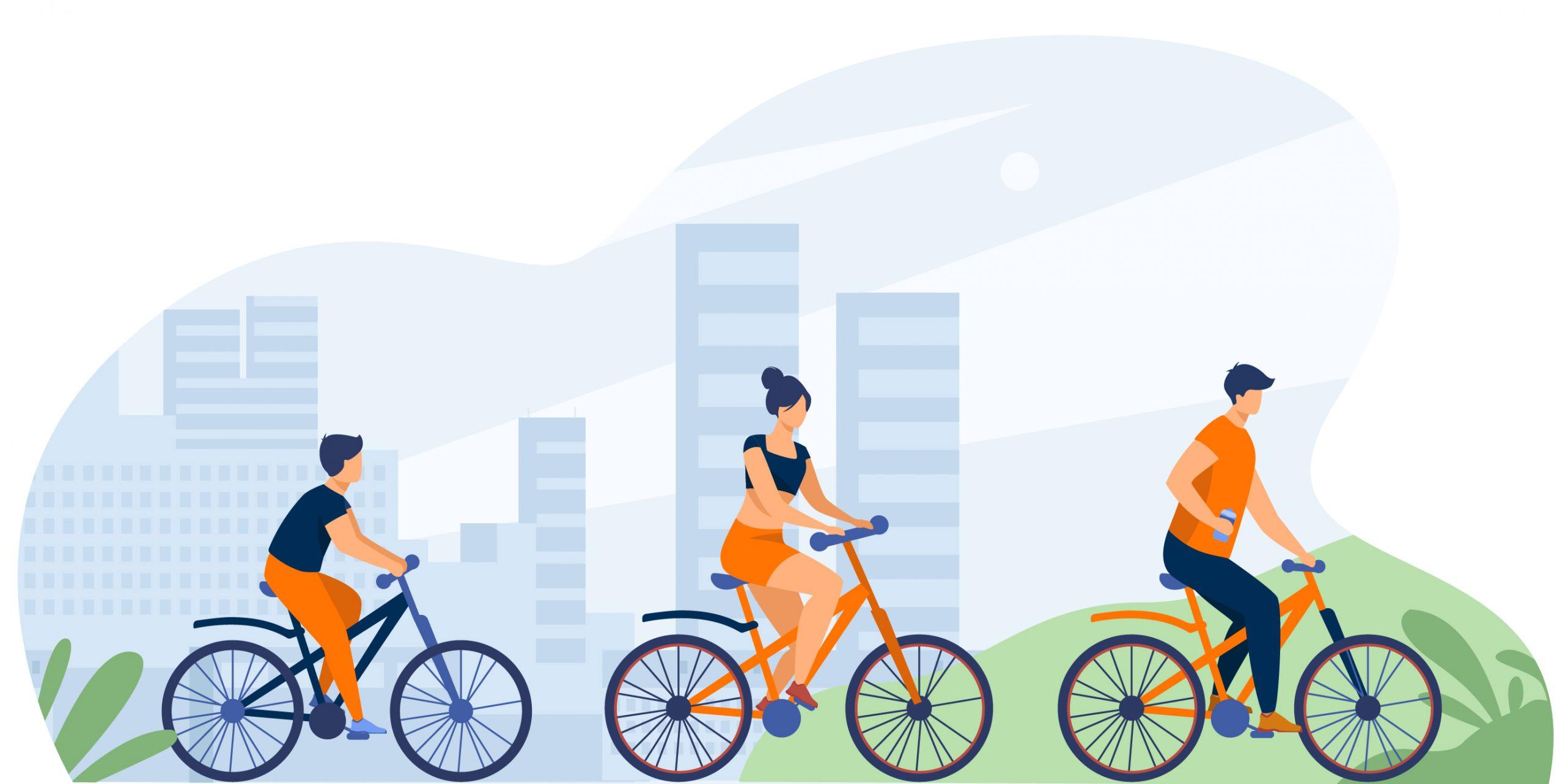 Et si on prenait les vélos?
