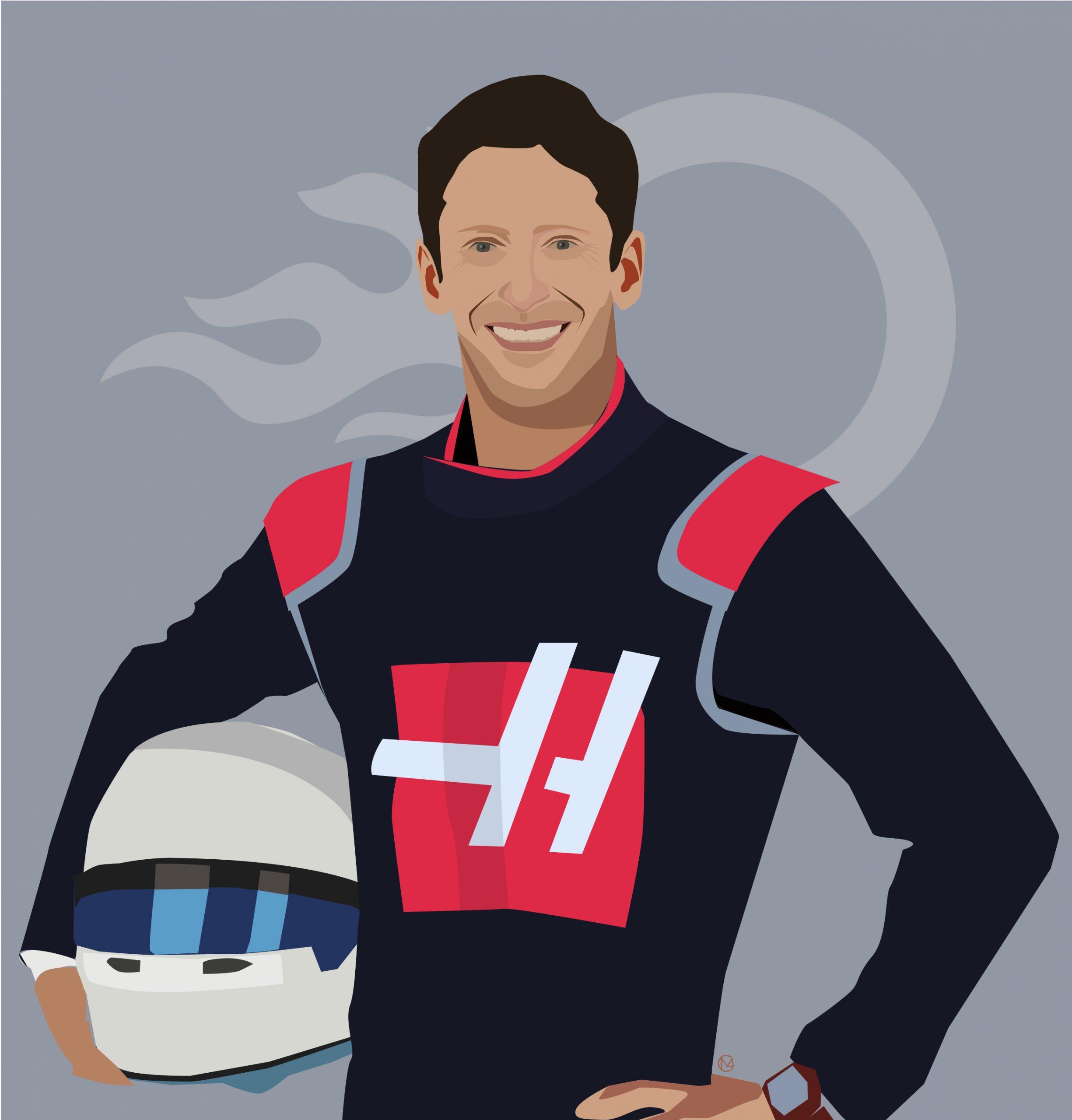 Qui est Romain Grosjean, nouvelle star française aux USA